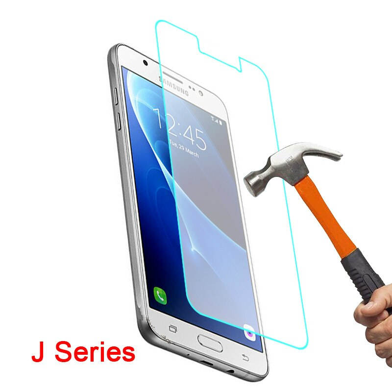 Vidrio Protector para Samsung J5 2016 J3 J1 J7 6 J 1 3 5 7, Protector de pantalla de cristal templado para Galaxy J16 J36 J52016 5j 3j