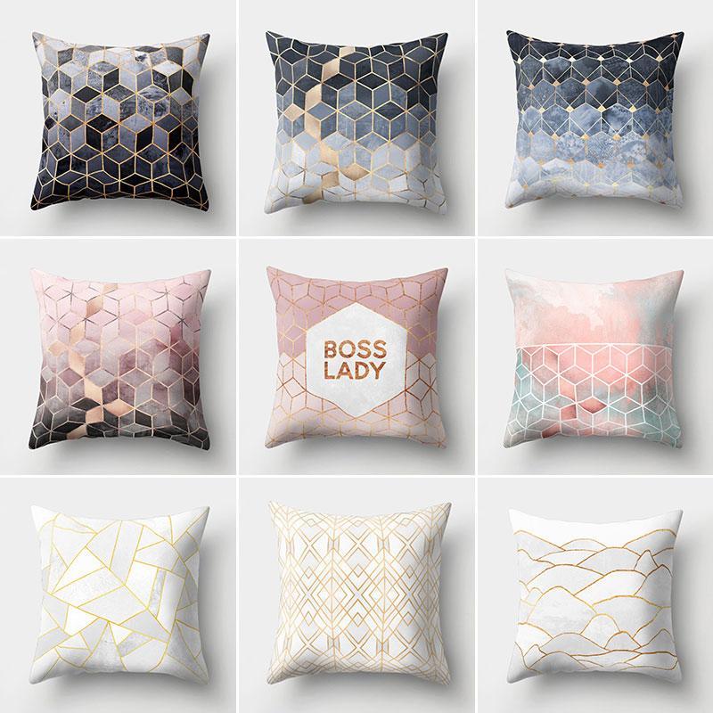 Housses de coussin en velours pour couleur unie, housses de coussin décoratives pour canapé, vente en gros, taie d'oreiller
