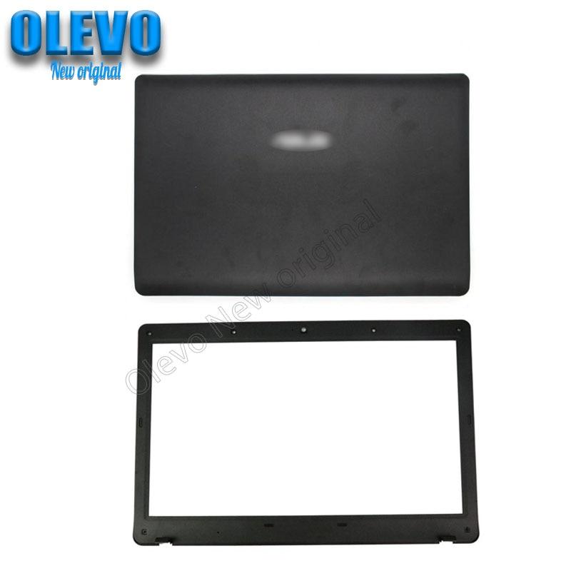 جديد محمول LCD الغطاء الخلفي/الجبهة الحافة/مفصلات ل ASUS K52JK A52JR X52JV A52J K52 A52 X52 K52JE X52F X52J