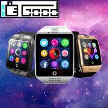 Smartwatch 2020 sport caméra SIM TF carte Fitness Bracelet reloj montres pour ios xiaomi oppo huawei pk amazfit gt08 A1 X6 V8