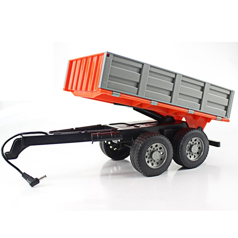 RC Tractor 1/16 RC Truck Farm Tractor 2.4G Remote Control Trailer Dump/Rake/Water Truck Simulated Large Construction Vehicle Toy enlarge