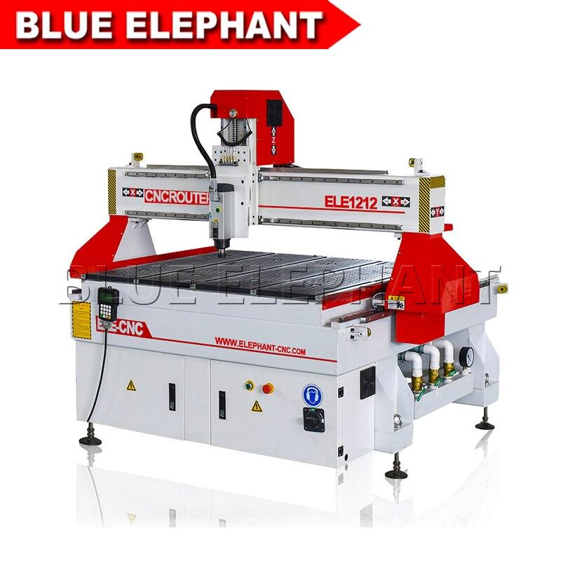 Europa alta calidad cnc maquina enrutadora, China mini 1200*1200mm máquina de madera