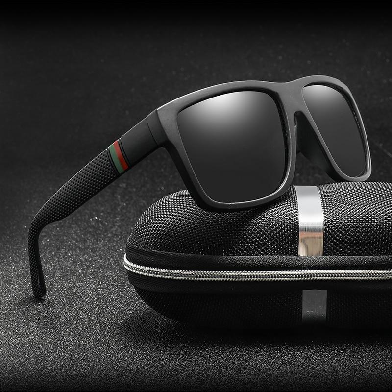 Polaroid Sunglasses Unisex Square Vintage Sun Glasses Famous Brand Sunglases Polarized Sunglasses Oc
