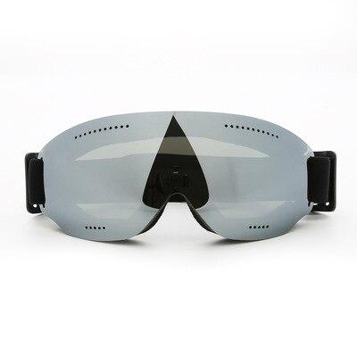 Homens e mulheres com crianças lente esférica miopia óculos espelho neve estrato abrangente mercúrio chapeamento personalizado