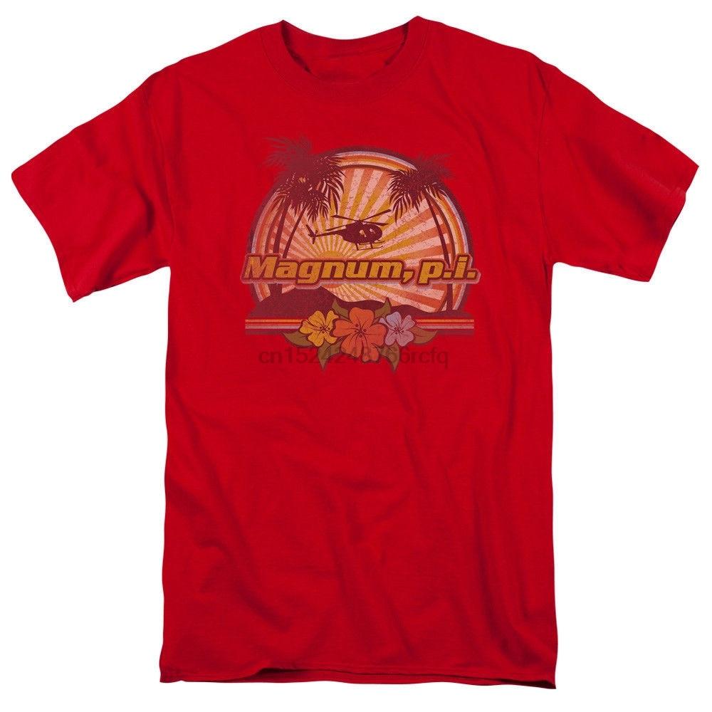 Magnum P.I. Hawaiian Sunset T-shirts for Men Women or Kids