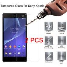 2 Stuks 9H Beschermende Glas Voor Sony Xperia L2 L1 L C3 C4 C5 Screen Protector Voor Sony Xperia e5 E4g E4 E3 E1 Gehard Glas Hd