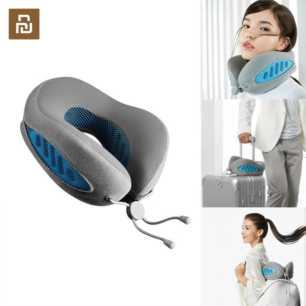 Nuevo cojín para cuello en forma de U Youpin LeFan, cómodo avión para conducir la siesta, apoyo para la cabeza, cuidado de la salud para la oficina de viaje