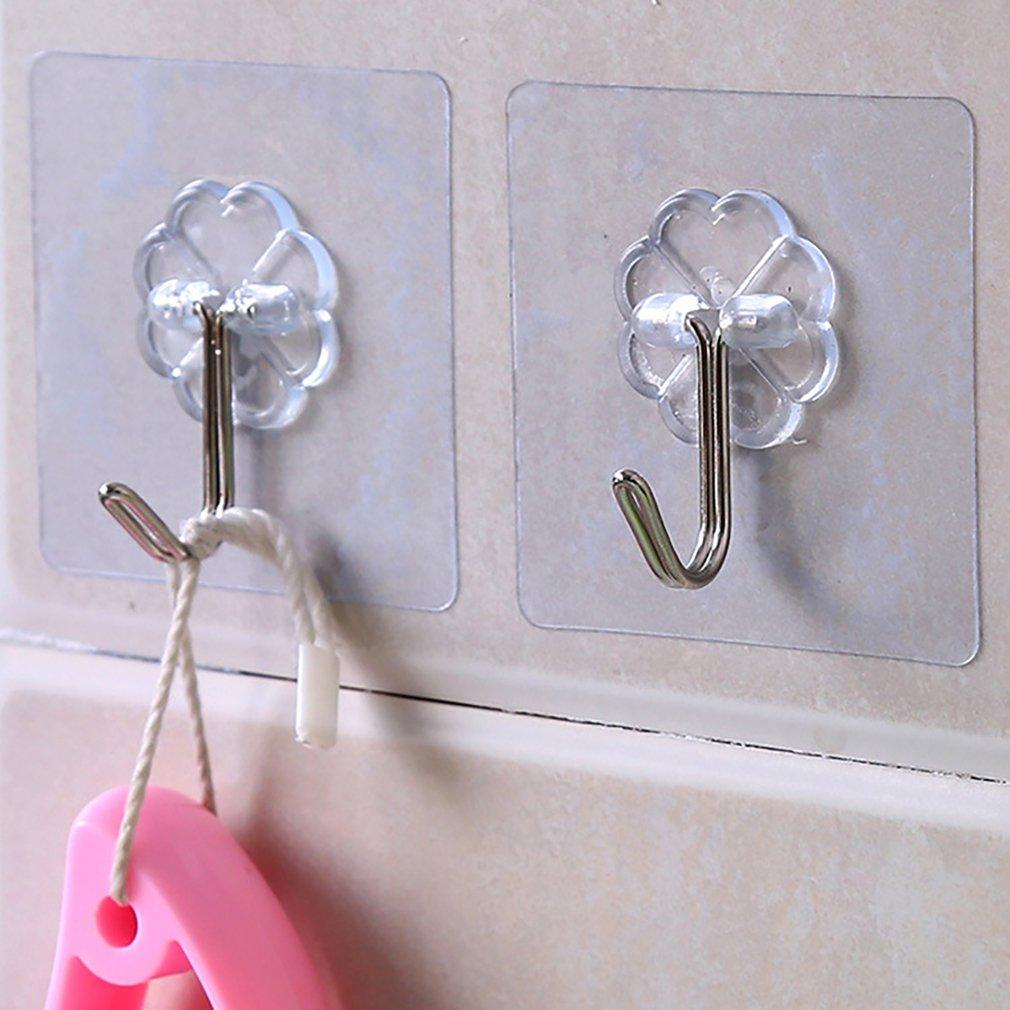 Colgador transparente a prueba de agua para el baño de la cocina