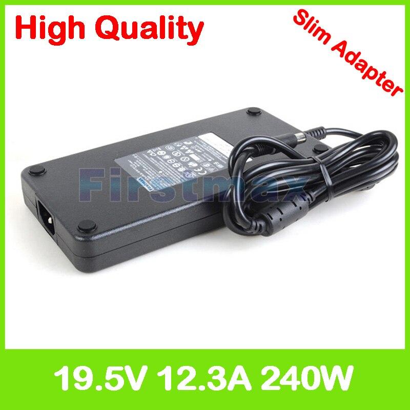 Dünne 19,5 V 12.3A laptop AC adapter ladegerät für Dell Präzision M6400 M6500 M6600 M6700 M6800 M7710 M7720 Mobile Workstation PA-9E