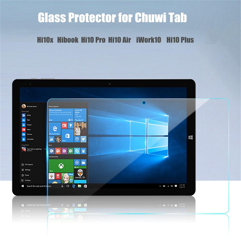 3Piece Glass Protector for Chuwi Hi10 X Screen Film for Chuwi Hi10 Air Hi10 Pro Hibook Hi10x Iwork 10 Hi10 Plus Glass Protector
