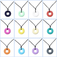 Safety Silicone Necklace For Women Baby Teeth Food Grade Silicone Baby Toys Silicone Holiday Travel