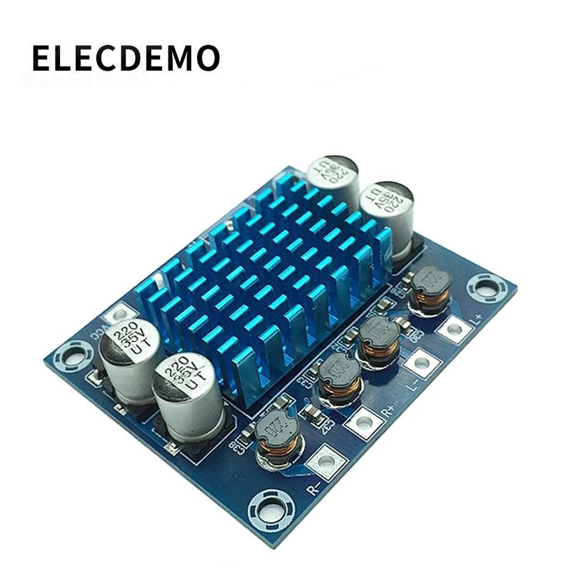 XH-A232 amplificador de potencia de audio digital de alta definición Módulo de amplificación mp3 12V24V tablero de refuerzo de sonido dual chann