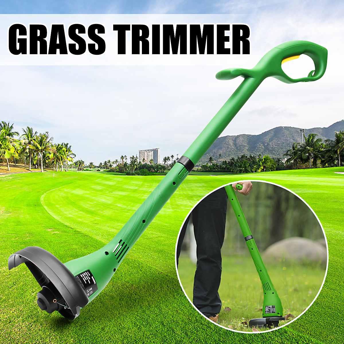 12500RPM 220V 500W Home Electric Lawn Mower Portable Grass Trimmer Garden Lawn Mower Weeding Machine Power Tool