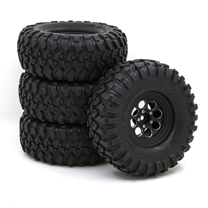 RS-RC 4Pcs Aluminum Alloy 1.9 Beadlock Wheels Rims for 1/10 RC Crawler Axial SCX10 SCX10 II 90046 AXI03007 Traxxas TRX4 D90 enlarge