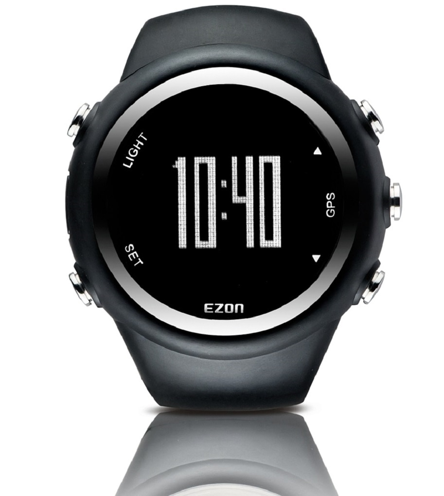 EZON T031 GPS Timing Digital Watch Outdoor Sport Multifunction Watches Fitness Distance Speed Calori