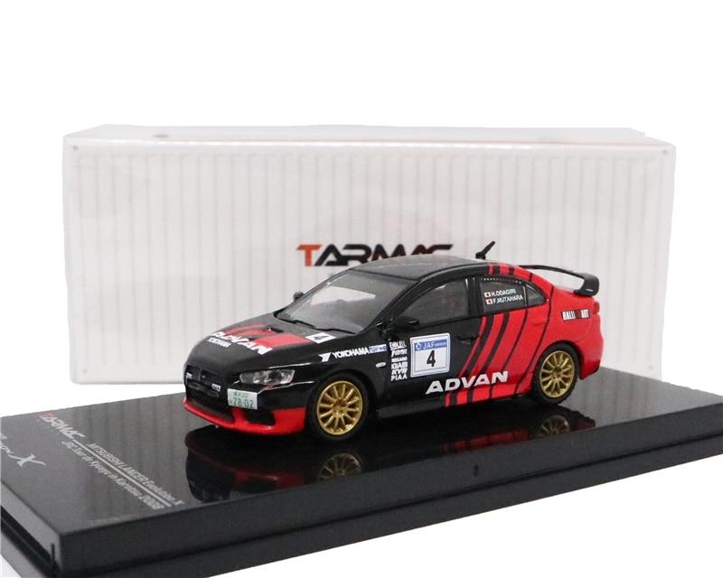 Tarmac funciona 1 64 Mitsubishi EVO X Advan Racing modelo de coche