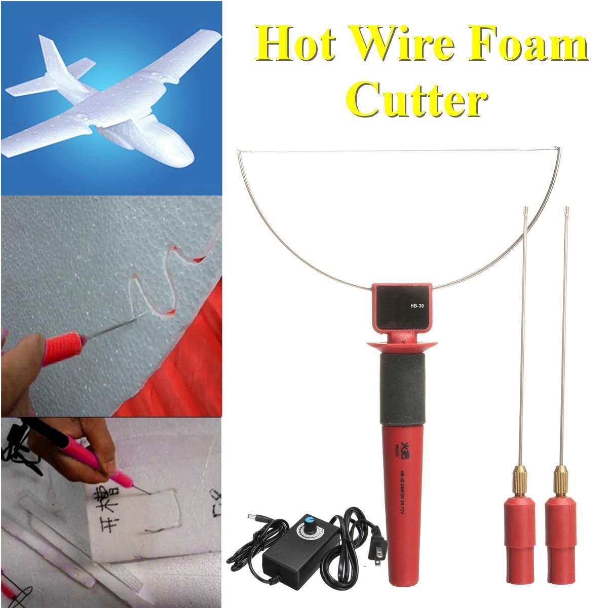 Cortador de espuma de fio quente elétrico isopor poliestireno artesanato diy modelo de mão máquina de corte de espuma ferramentas cortador de espuma elétrica arte