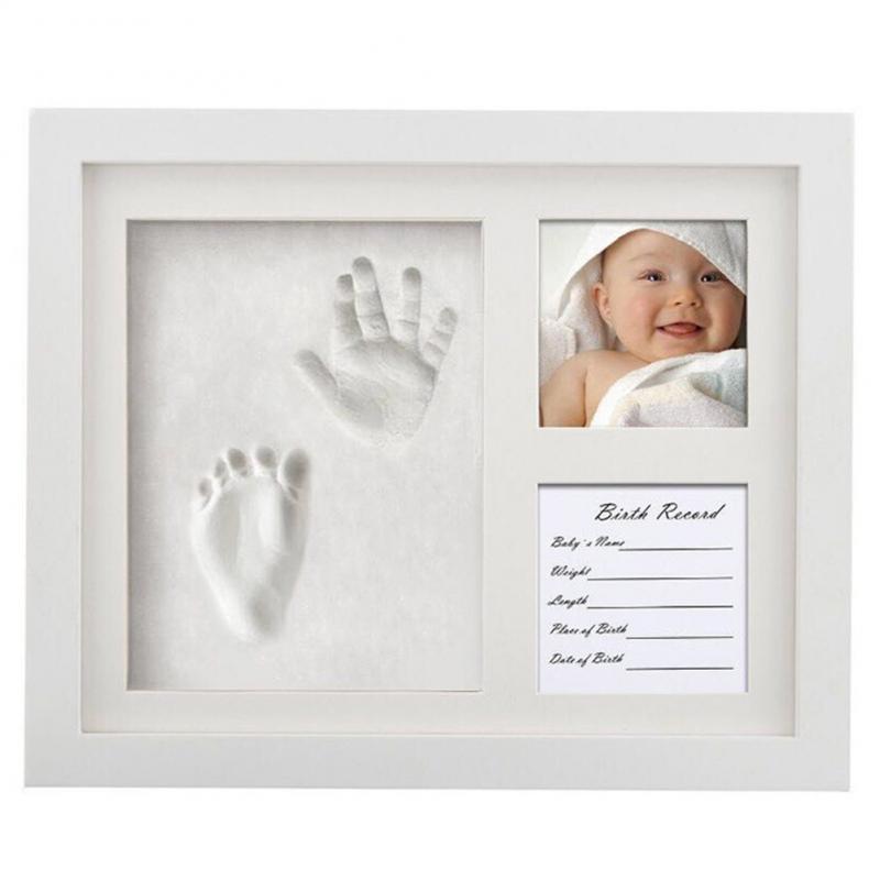 الوليد الطفل بصمة بصمة عدة صب الرضع طفل DIY بها بنفسك هدايا تذكارية غير سامة بصمة لينة الطين Inkpad للطفل