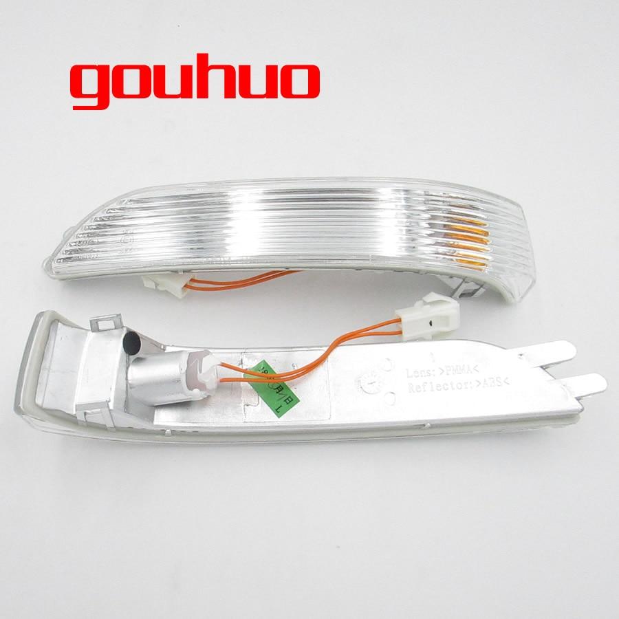 Carcasa de espejo retrovisor señal de giro LED para coche espejo retrovisor luz de señal espejo de Vista luz de señal de giro para gran pared Haval H5 H3