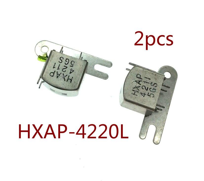 2pcs Dual sound head HXAP-4220L card holder core 240 ohm for cassette deck audio pressure recorder player