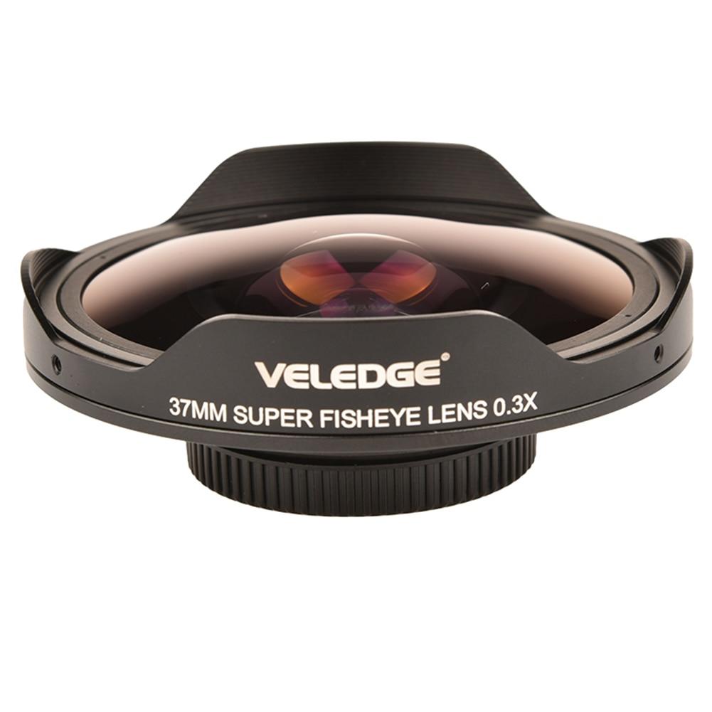 37 مللي متر/43 مللي متر 0.3X الترا زاوية واسعة للعين السحرية محول العدسة واسعة مع هود حمل الحقيبة ل كاميرات فيديو الرقمية كاميرات الفيديو