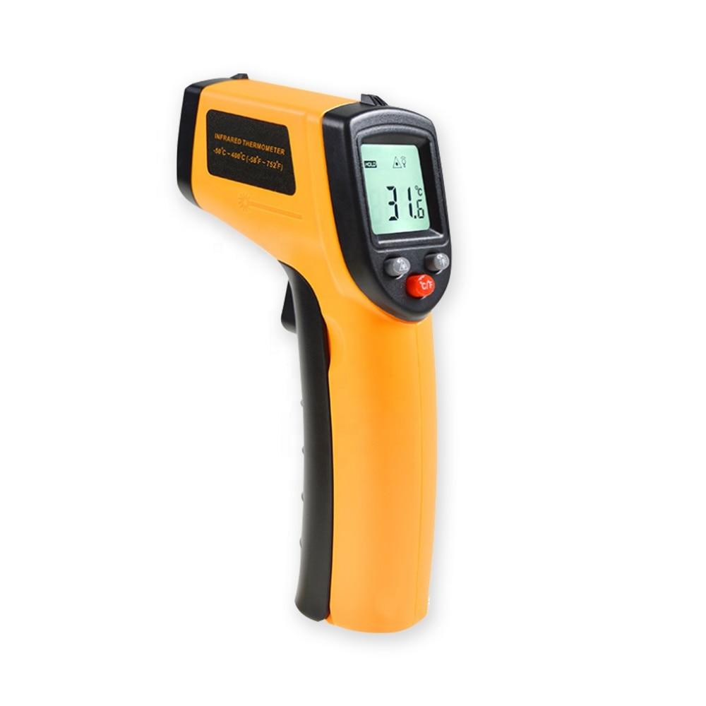 Termómetro infrarrojo digital electrónico IR barbacoa horno comida cocinar 1112 barato alta temperatura sin contacto pistola