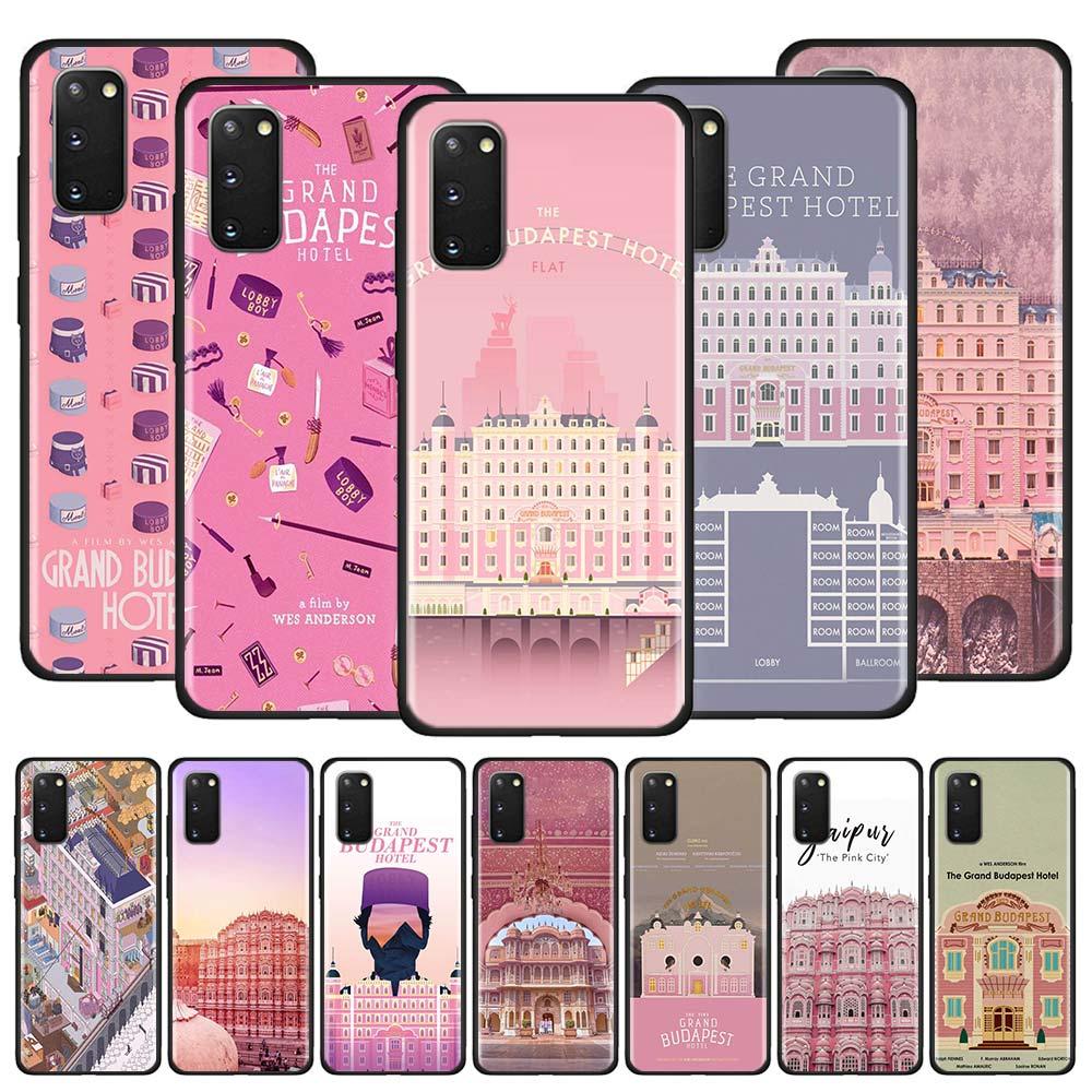 Grand Budapest Hotel Case for Samsung Galaxy S20 Ultra S10 5G S10e S9 S8 Plus Note 10 Lite 9 Black TPU Phone Cover