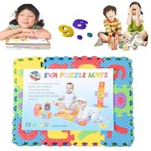36pcs 퍼즐 소프트에 바 거품 아기 놀이 층 매트 알파벳 숫자 아이 DIY 퍼즐 퍼즐
