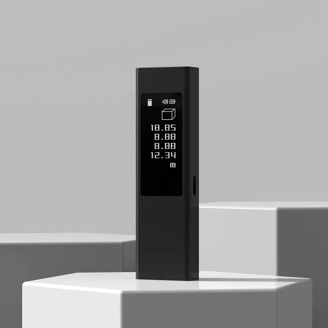 Duka 40m Telémetro Láser LS5 pantalla táctil OLED medidor de distancia de...