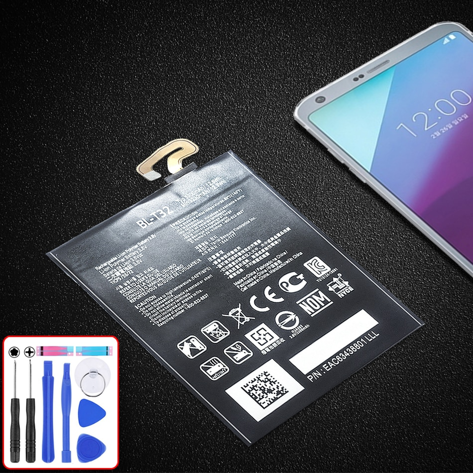 Endurable BL-T32 3300mAh Mobile Battery For LG G6 G600 H872 VS988 LS993 US997 BL T32 Lithium Polymer Accumulator