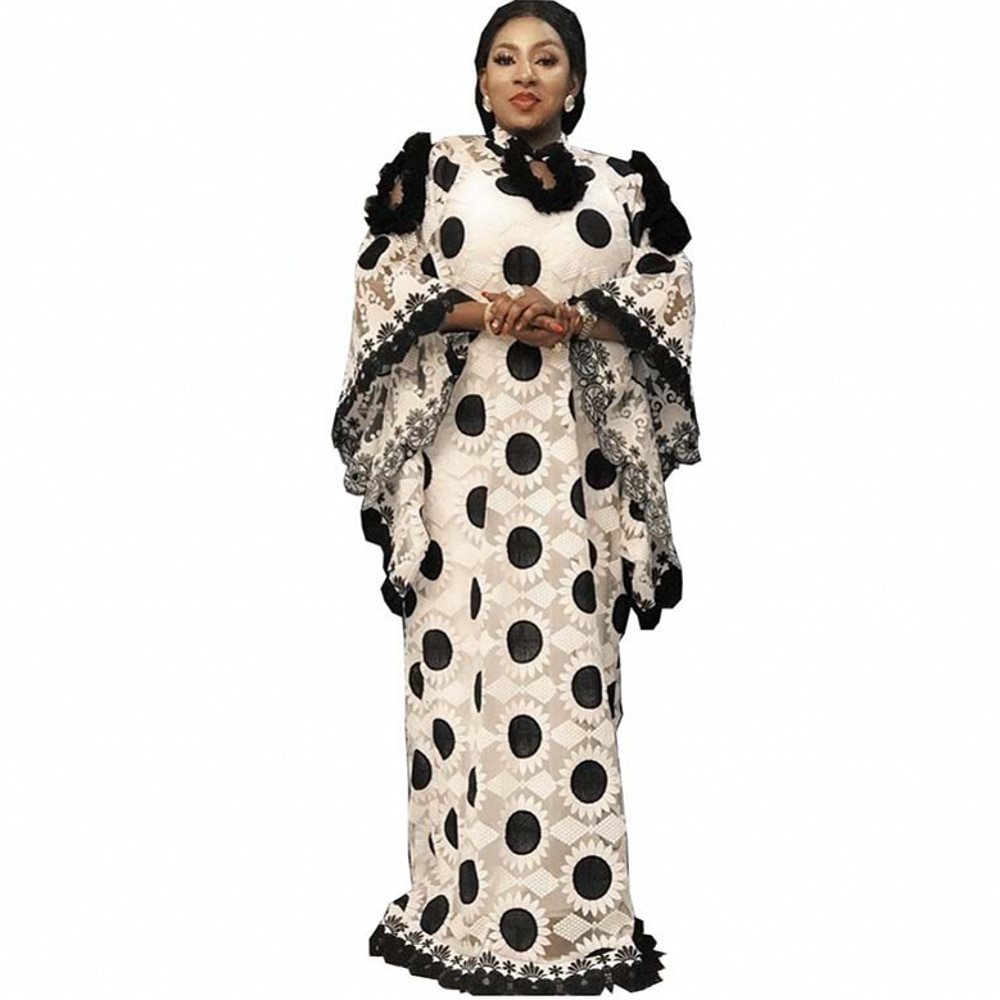 2 Piece Set African Dresses For Women Winter Autumn Africa Clothing Muslim Long Maxi Dress High Quality Fashion Dress Lady