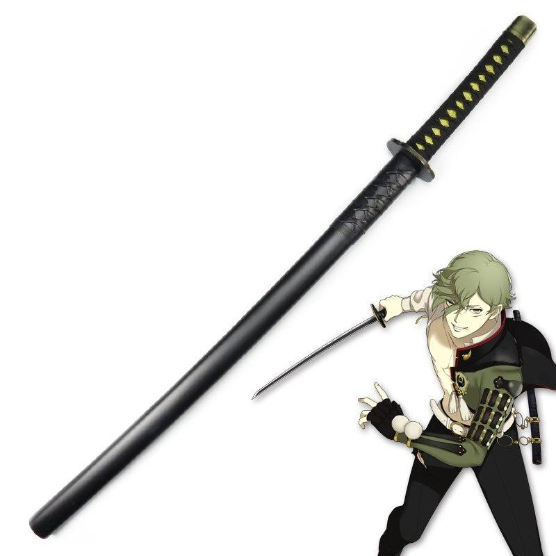Игра Touken Ranbu Online Uguisumaru катана, деревянная меч Косплей Реквизит самурайский меч