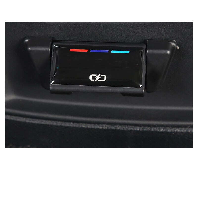 Lsrtw2017 Abs Interior del coche USB para BMW Serie 3 G20 320, 325, 330, 335, 2020