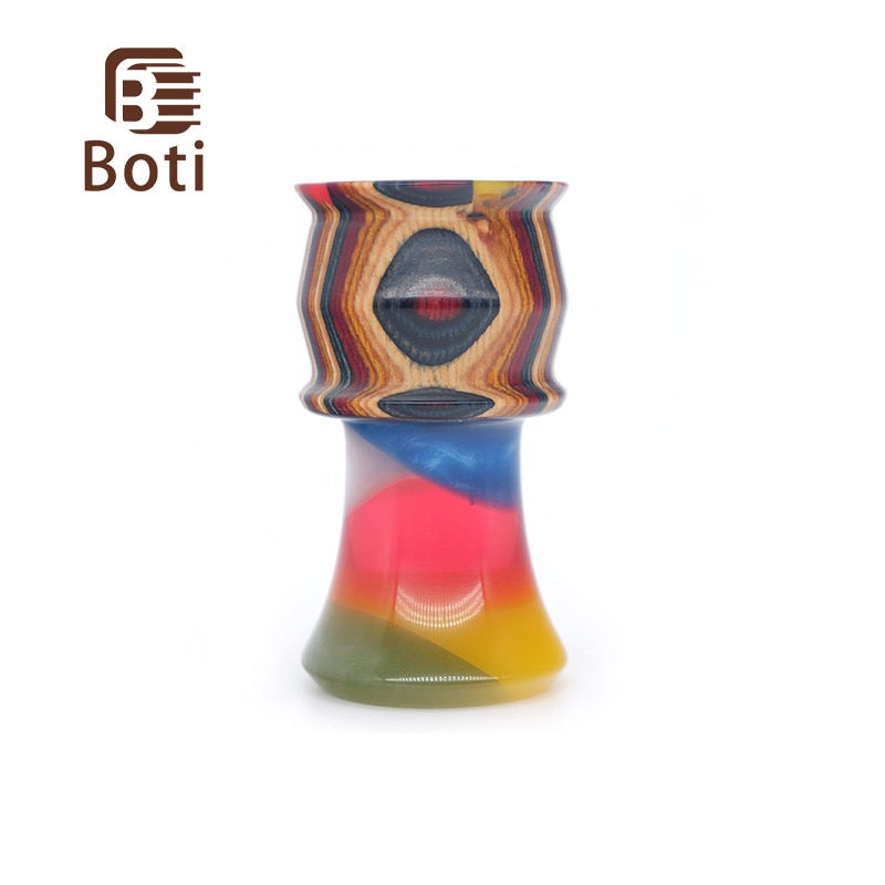 Фото - Щетка Boti-новая ручка из радужной глазури, ручка из дерева и смолы, ручка радужного цвета, ручка для бритья ручка