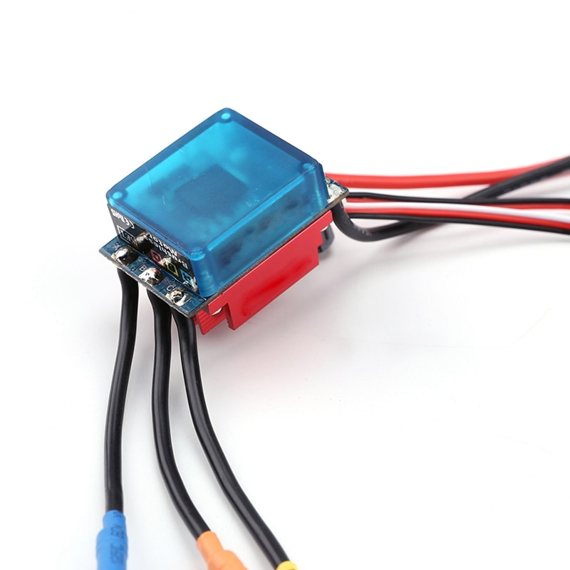RC Running 35A Brushless ESC Electric Speed Control Waterproof for 1/14 1/16 RC Car enlarge