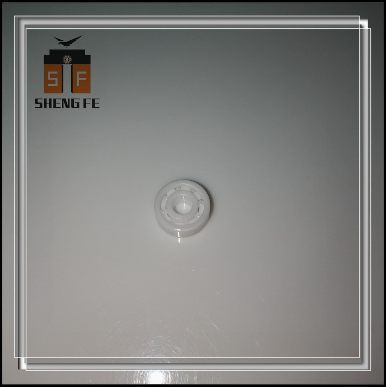 ZrO2 Ceramic Bearing 605 5x14x5 Ball Bearing / Fishing reel bearing 1450 / Apparatus bearing / Seawater bearing MR605  ABEC-9