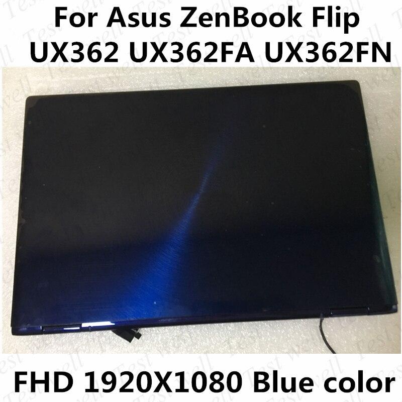 لوحة شاشة لمس LCD مقاس 13.3 بوصة لجهاز Asus ZenBook ، تجميع الكمبيوتر المحمول ، FHD ، 1920 × 1080 ، UX362FN ، UX362FA ، Flip ، UX362 ، UX362FA
