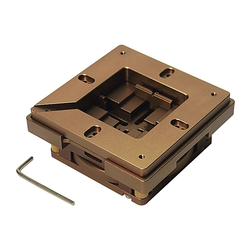 BGA Reballing Kit reball jig 80mm 90mm stencil common use auto Lock Accurate Position Multi-Sides Adjustment Easy Operation