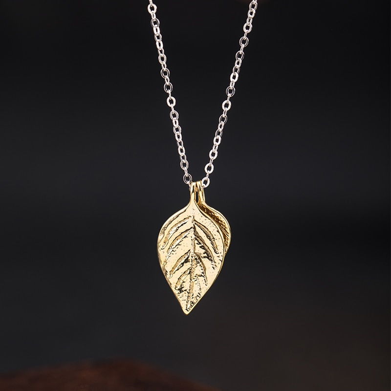 vla-925-silver-fashion-design-basil-leaf-necklace-women-2021-new-simple-temperament-leaf-necklace-jewelry-accessories