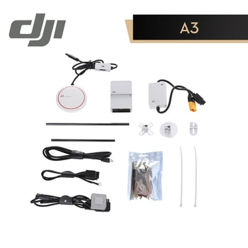 DJI A3 Flight Controller Triple Modular Redundancy Compatible with D-RTK GNSS Smart ESCs Intelligent Batteries and Lightbridge 2