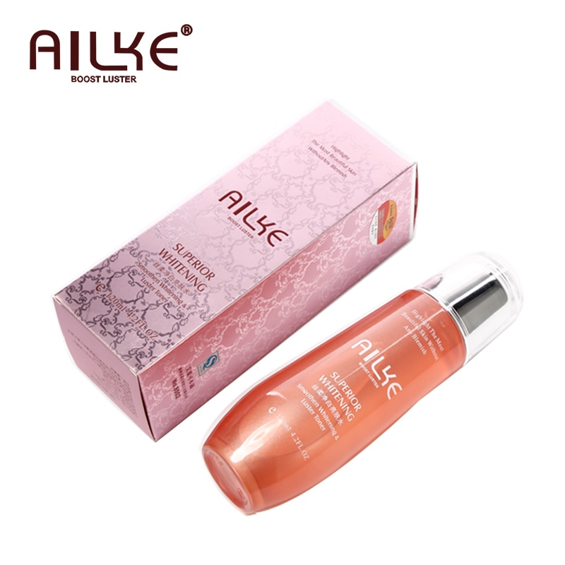 AILKE Rosewater Toner for face vitamin c brightening cleaning whitening Glycerin Oil Control Essence tonic facial care comestics