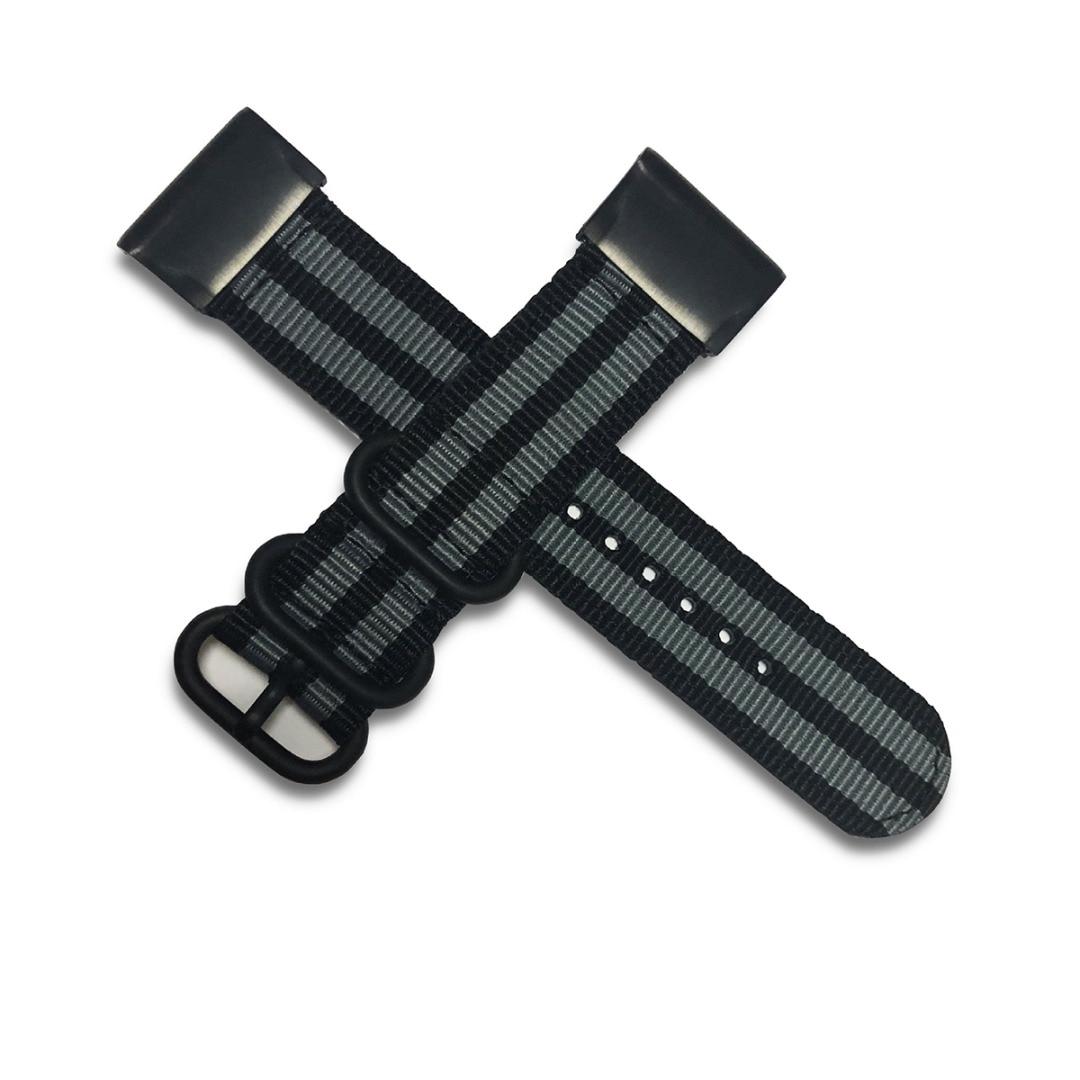 Replacement Strap For Garmin Fenix 6/ 6X/6pro/6X pro/6S/6S pro Nylon Canvas Wrist Strap 20/22/26mm Watchband Watch Accessories