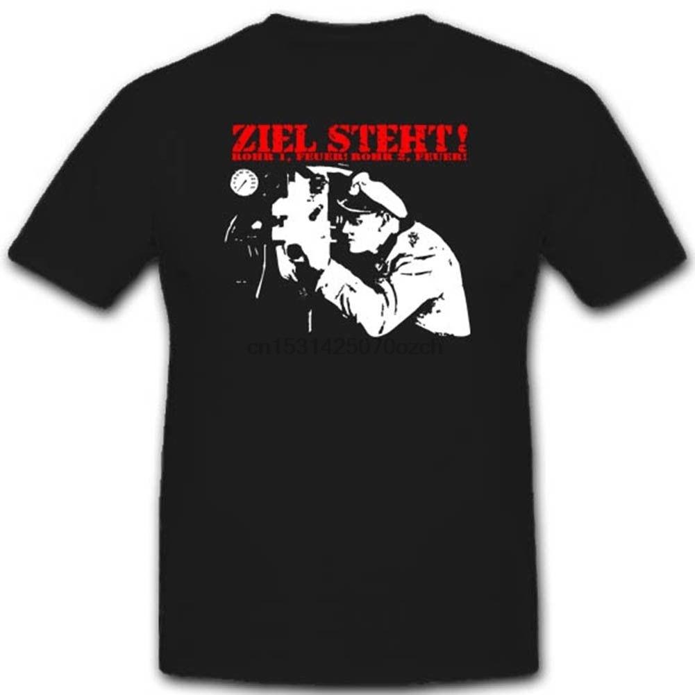Camiseta de marca de Summer ropa Unterseeboot Ziel de esto se Deutschland...
