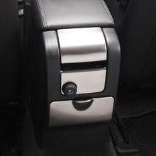 Voiture accoudoir arrière boîte panneau décoration autocollant garniture pour Volvo XC60 S60 V60 2010-19 cendrier allume-cigare modifié décalcomanies