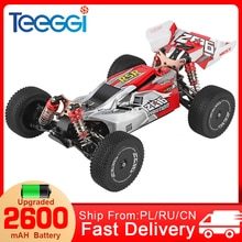WLtoys 144001 RC Car 1:14 2.4G Racing RC High Speed Car 60km/h 4WD Off-Road Drift Electric Remote Co