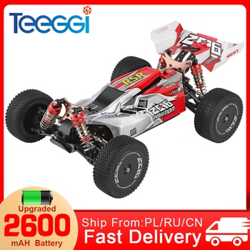 WLtoys 144001 RC Car 1:14 2.4G Racing RC High Speed Car 60km/h 4WD Off-Road Drift Electric Remote Control Toys for Children