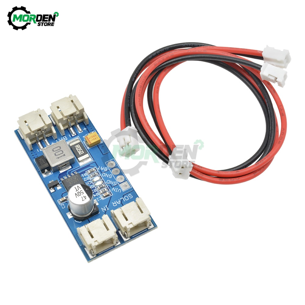 CN3791 MPPT Solar Charge Controller Board 3.7V 4.2V 2A 1 Cell Lithium Battery Charging Module 6V 9V 12V 2-Pin JST Connectors