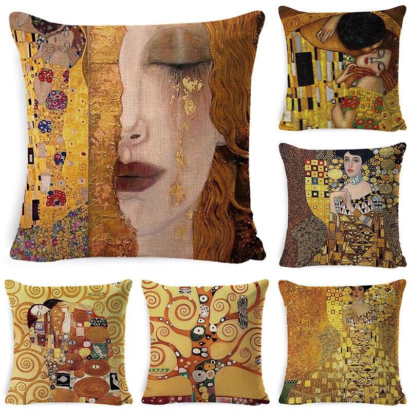 Funda de cojín decorativa, funda de almohada, cojines decorativos de Navidad para sofá, funda de almohada, decoración moderna para el hogar