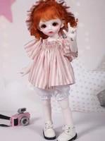 16 scale bjd doll cute kid boy or girl bjdsd resin figure doll model toy gift full set with clothesshoeswig a0160carol yosd
