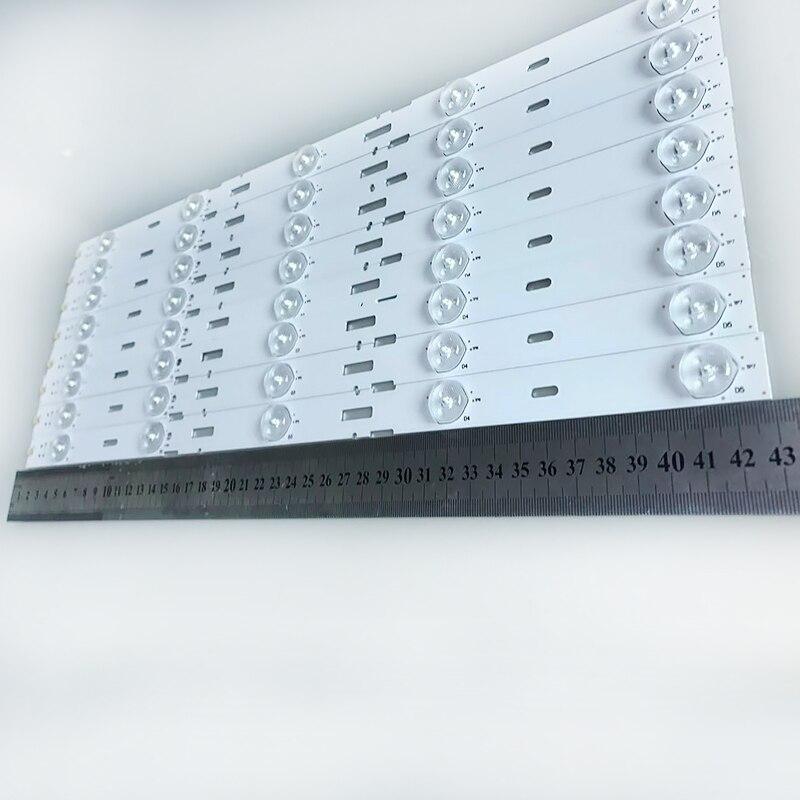 جديد كيت 8 قطعة 5LED 428 مللي متر LED شريط إضاءة خلفي للتلفزيون 40VLE6520BL SAMSUNG_2013ARC40_3228N1 40-LB-M520 40VLE4421BF